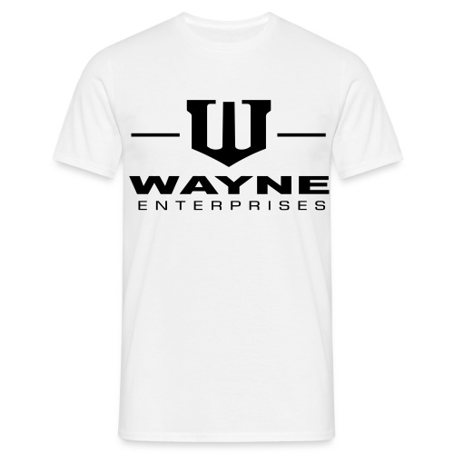 Wayne Enterprises [T-Shirt] [white-black] - Männer T-Shirt