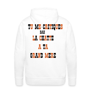 HOLD UP  - Sweat-shirt à capuche Premium pour hommes