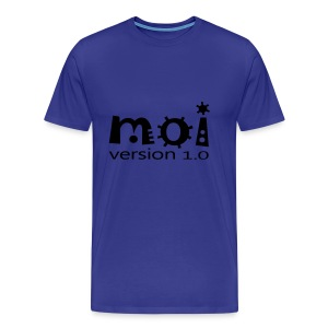 Moi version 1.0 - T-shirt Premium Homme