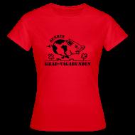 T-Shirts ~ Frauen T-Shirt ~ T-Shirt Damen: Glücksschwein (schwarzer Aufdruck)