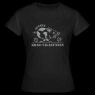 T-Shirts ~ Frauen T-Shirt ~ T-Shirt Damen: Glücksschwein (silberner Aufdruck)