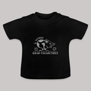 Baby-T-Shirt Glücksschein (silberner Aufdruck) - Baby T-Shirt