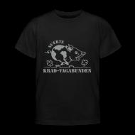 T-Shirts ~ Kinder T-Shirt ~ Kinder-T-Shirt - Glücksschwein (silberner Aufdruck)