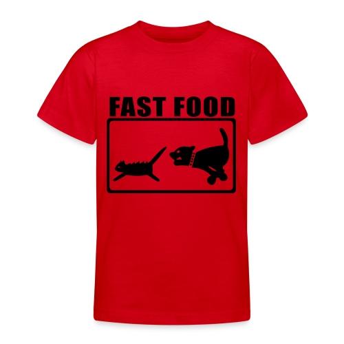 FAST FOOD Ados - T-shirt Ado