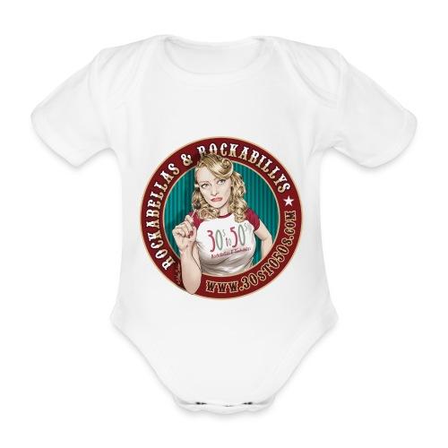 30sto50s.com Anna Baby Body - Baby Bio-Kurzarm-Body