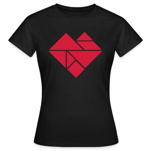 Coeur Femme - T-shirt Femme