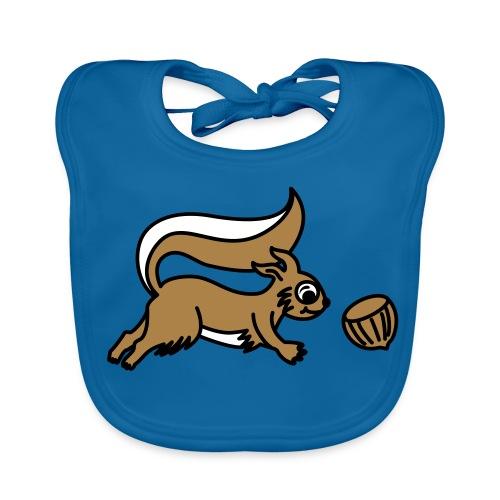 Eichhörnchen - Baby Lätzchen - Baby Bio-Lätzchen