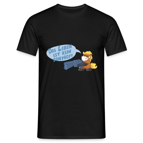 Butterblume Make my day! Männershirt - Männer T-Shirt