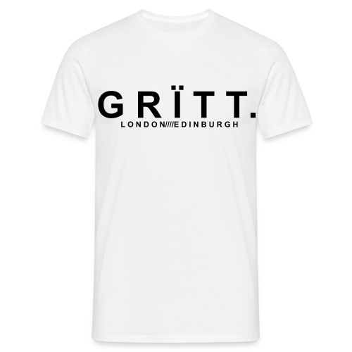 GRITT LOGO TEE *ON SALE £5 OFF LIMITED TIME ONLY* - Men's T-Shirt