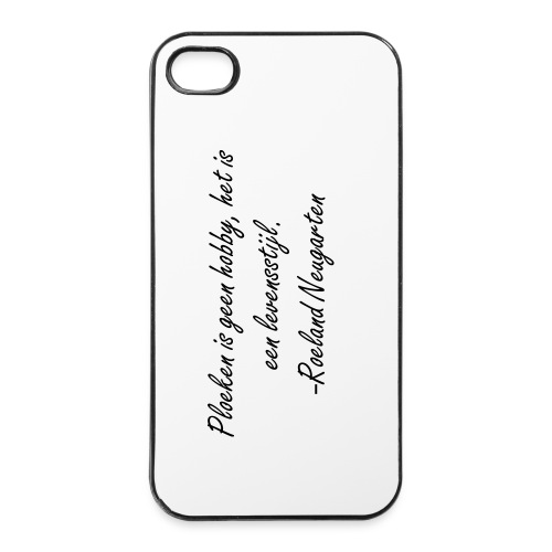 Iphone4 hoesje citaat. - iPhone 4/4s hard case
