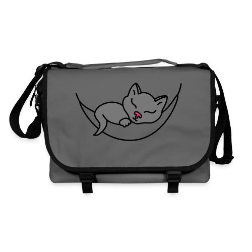 Schlafende Katze - Umhängetasche - Umhängetasche