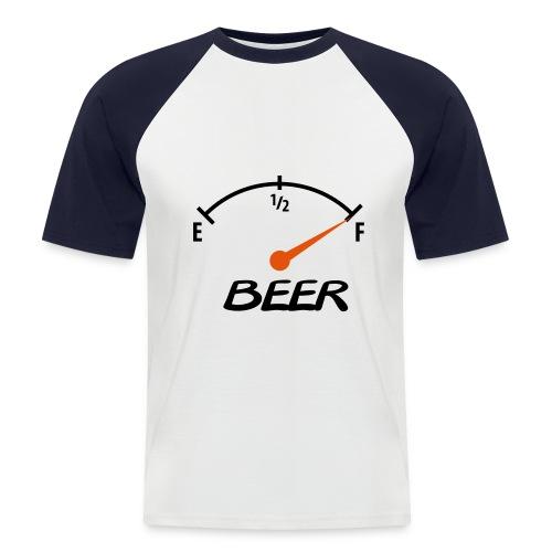 Beer - Kortærmet herre-baseballshirt