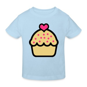 CupCake Love . Camiseta Niño - Camiseta ecológica niño