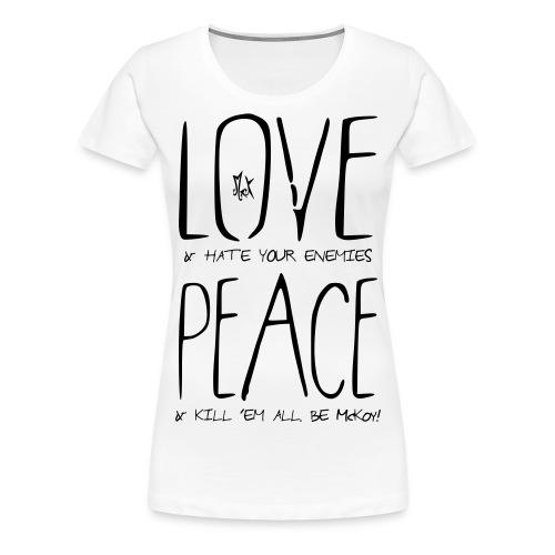 Wishes McKoy - Camiseta premium mujer
