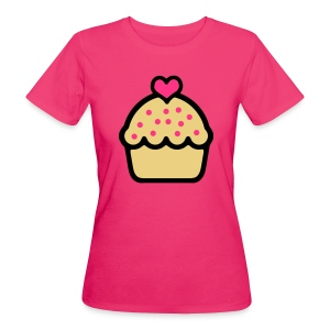 CupCake Love . Camiseta ecológica mujer - Camiseta ecológica mujer