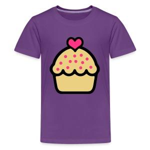 CupCake Love . Clásica Adolescente - Camiseta premium adolescente