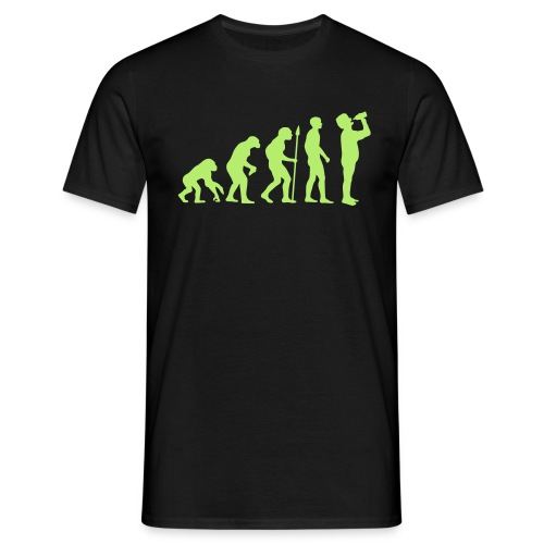 The right Evolution - Männer T-Shirt