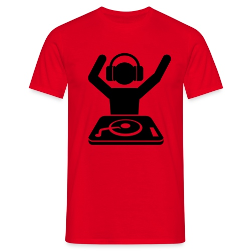 DJ Hands Up - Männer T-Shirt