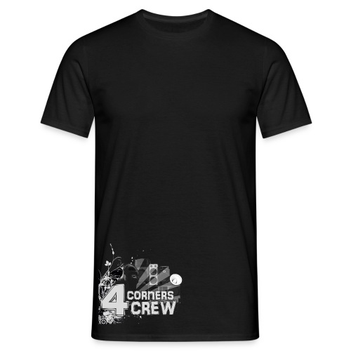 4Corners Crew Logo Abstract Shirt - Men's T-Shirt