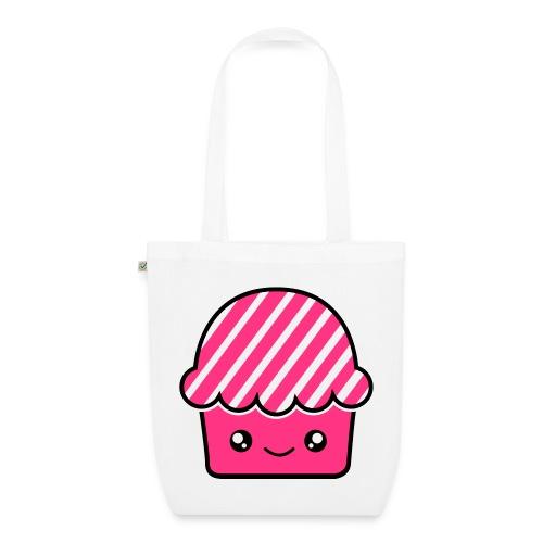 Smile Cupcake . Bolsa de tela ecológica - Bolsa de tela ecológica