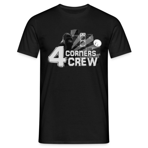 4Corners Crew Logo Shirt - Men's T-Shirt
