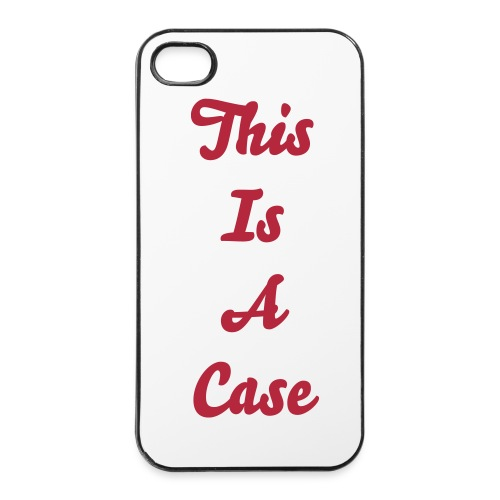 This Is A Case - iPhone 4/4S - iPhone 4/4s Hard Case