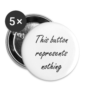 This button represents nothing - Small - Buttons small 25 mm