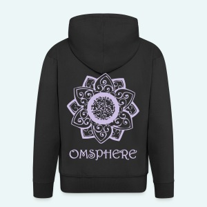 Men's Omsphere Zip Hoodie  - Men's Premium Hooded Jacket