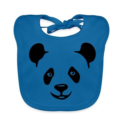 Panda . Babero ecológico bebé - Babero ecológico bebé