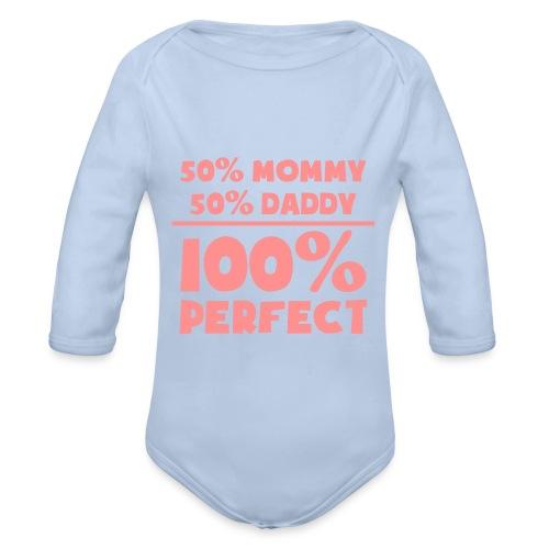 100% PERFECT - Baby Bio-Langarm-Body