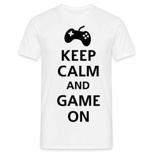 Keep Calm And Game On Shirt - Men's T-Shirt
