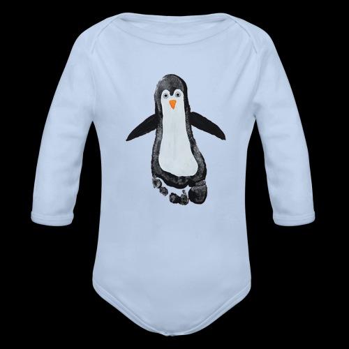 Body Pingu Langarm - Baby Bio-Langarm-Body