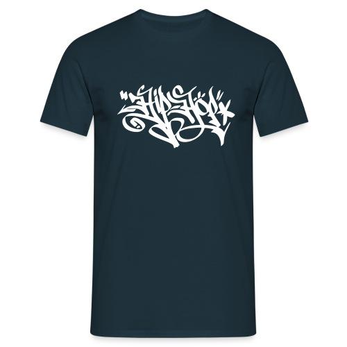 Hip-Hop Graffiti Tag – Männer T-Shirt (dh) - Männer T-Shirt