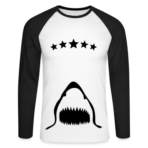 Shark - T-shirt baseball manches longues Homme