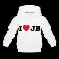 Sweaters ~ Kinderen trui Premium met capuchon ~ i love  sweater