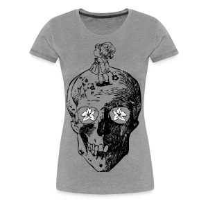 Girl on the Skull McKoy - Camiseta premium mujer
