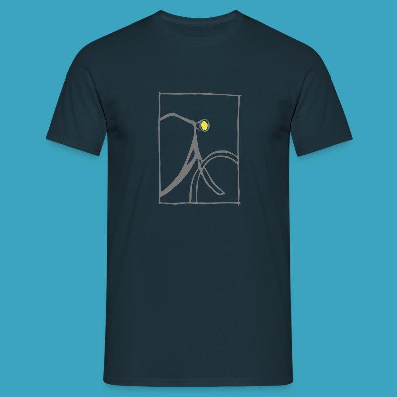 Holland bei Nacht - Männer T-Shirt