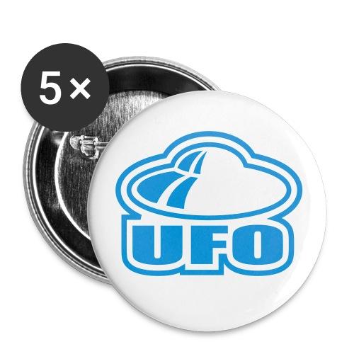 UFO - Confezione da 5 spille piccole (25 mm)