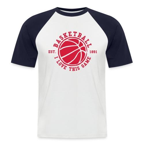 tee-shirt - T-shirt baseball manches courtes Homme