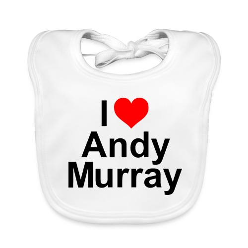 I heart Murray - Baby Organic Bib