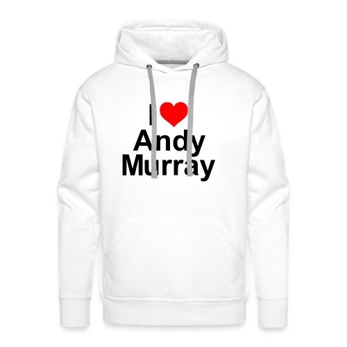 I heart Murray - Men's Premium Hoodie