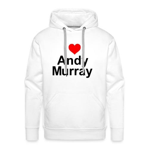 I heart Murray - Men's Premium Hoodie