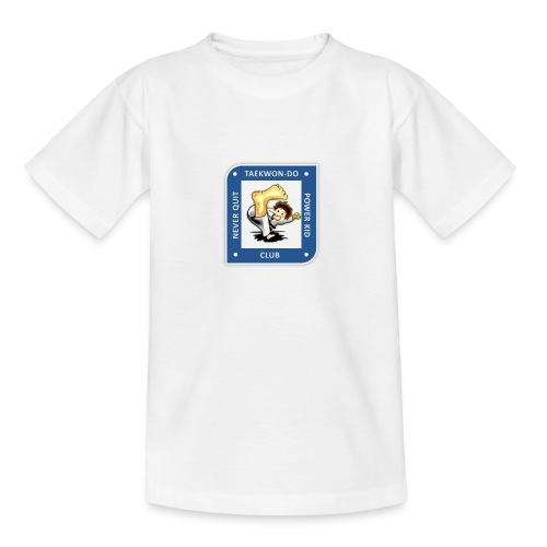 NQPK Traditional Taekwon-Do  t-Shirt orange Kinder 5-10 Jahre - Teenager T-Shirt