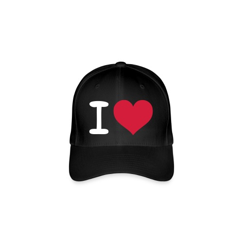 ''i Love'' - Flexfit baseballcap