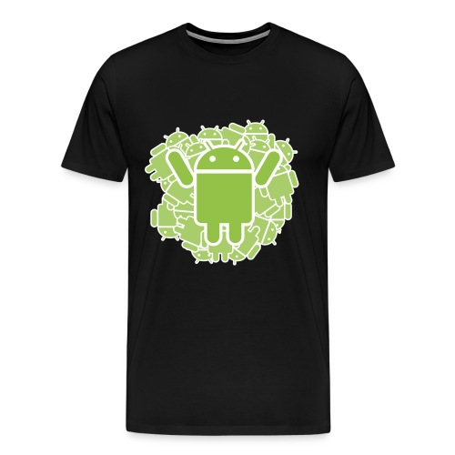 ANDROID 1 BLACK MEN - Männer Premium T-Shirt