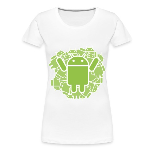 ANDROID 1 WOMEN - Frauen Premium T-Shirt