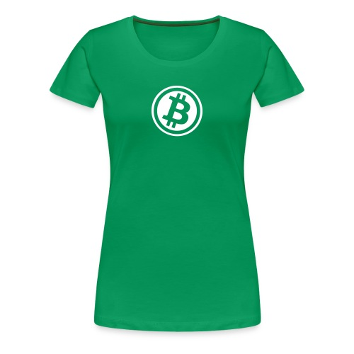 Girly Bitcoin Logo - Frauen Premium T-Shirt