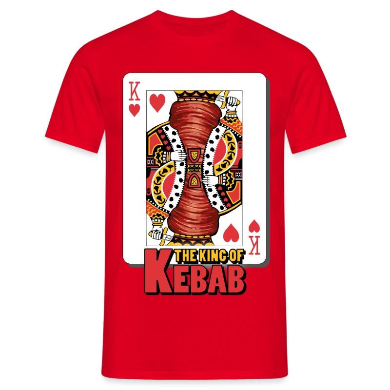 The King Of Kebab T-Shirt Uomo - Maglietta da uomo