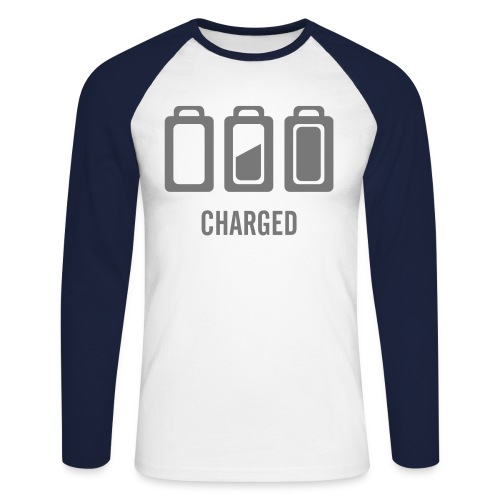 charged - T-shirt baseball manches longues Homme