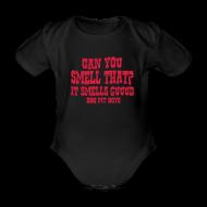 Baby Bodysuits ~ Organic Short-sleeved Baby Bodysuit ~ It Smells Guuud